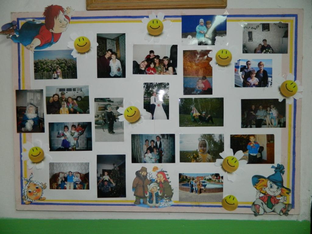 Альбом моя семья для детского сада фото